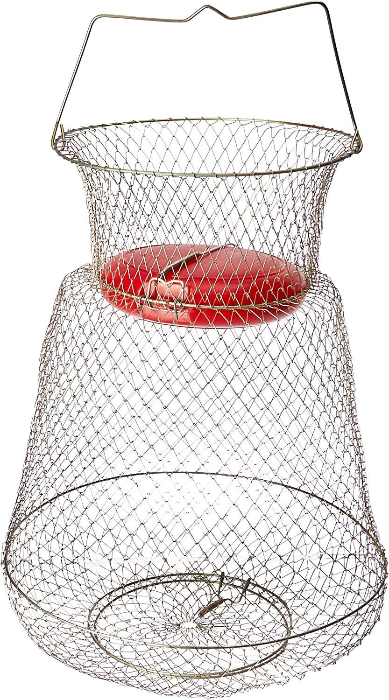 KUFA Floatable Galvanized Steel Wire Fish Basket