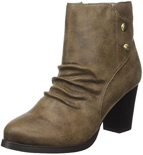 Les PTites BombesClaire - Botines Mujer, Beige (Beige (Taupe))