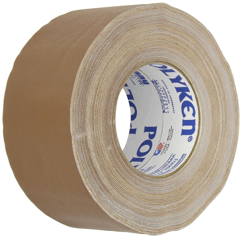 72mm x 50m Green Polyken 510 Rubber Premium Grade Gaffers Tape