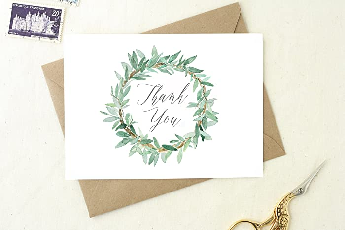 Amazon Com Thank You Notes Wedding Thank You Cards Thank You