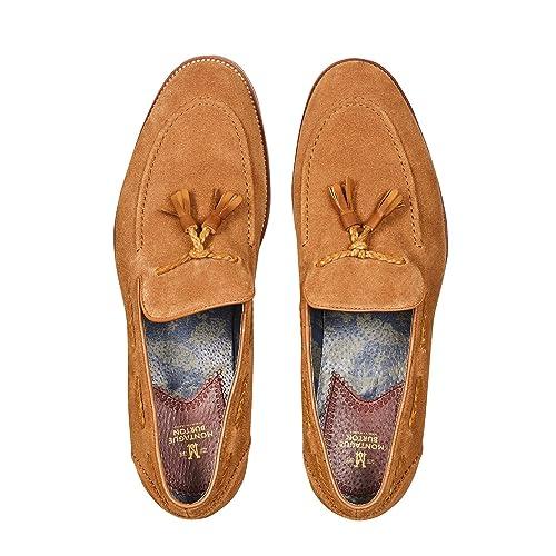 Burton - Mocasines para hombre rojo canela: Burton: Amazon.es: Zapatos y complementos