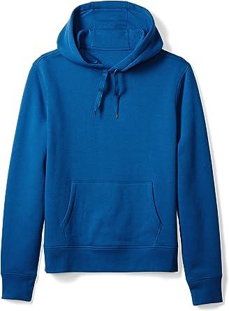 Mens Long Sleeve Ribbed Hoodies Sweatshirt Zip Pocket Hooded Causal Pullover Top