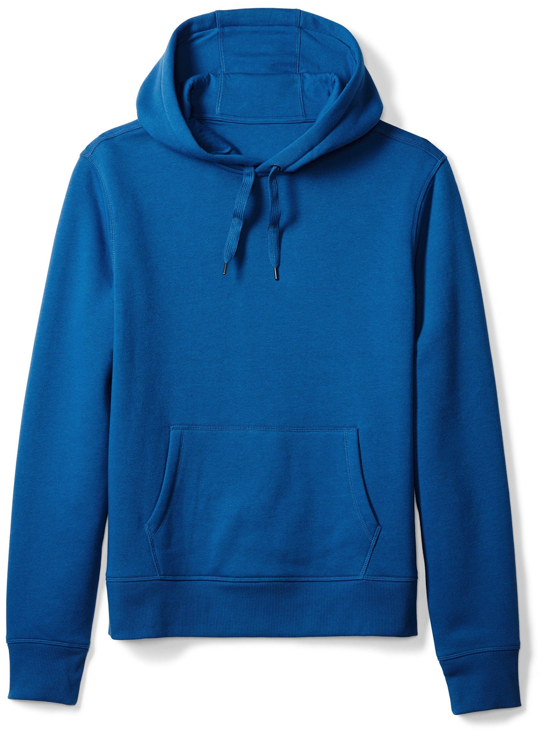 Amazon Essentials Men's Hooded Fleece Sweatshirt, Blue, X-Large