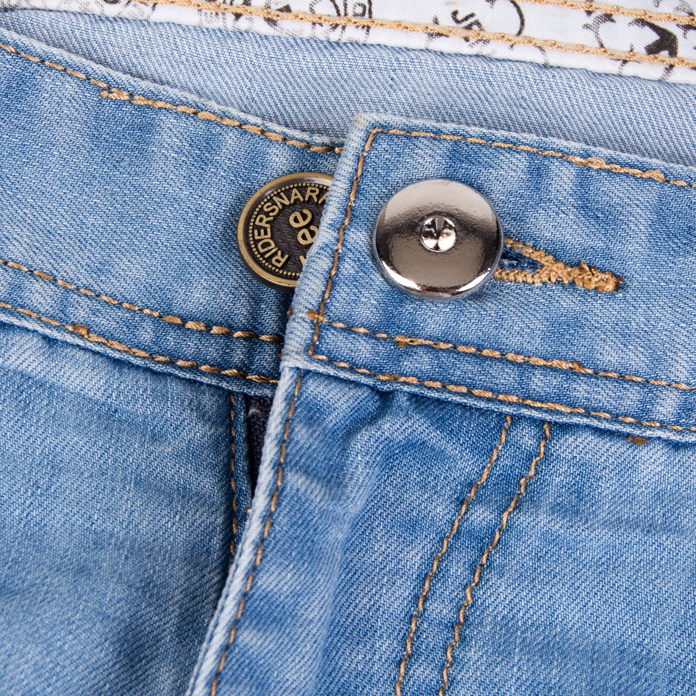 Vancool 10pcs Metal botón extensores para jeans (19mm/0.74
