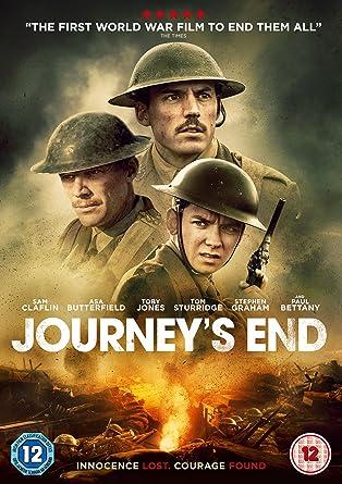 Journey's End [DVD] [2018]: Amazon co uk: Sam Claflin, Paul Bettany