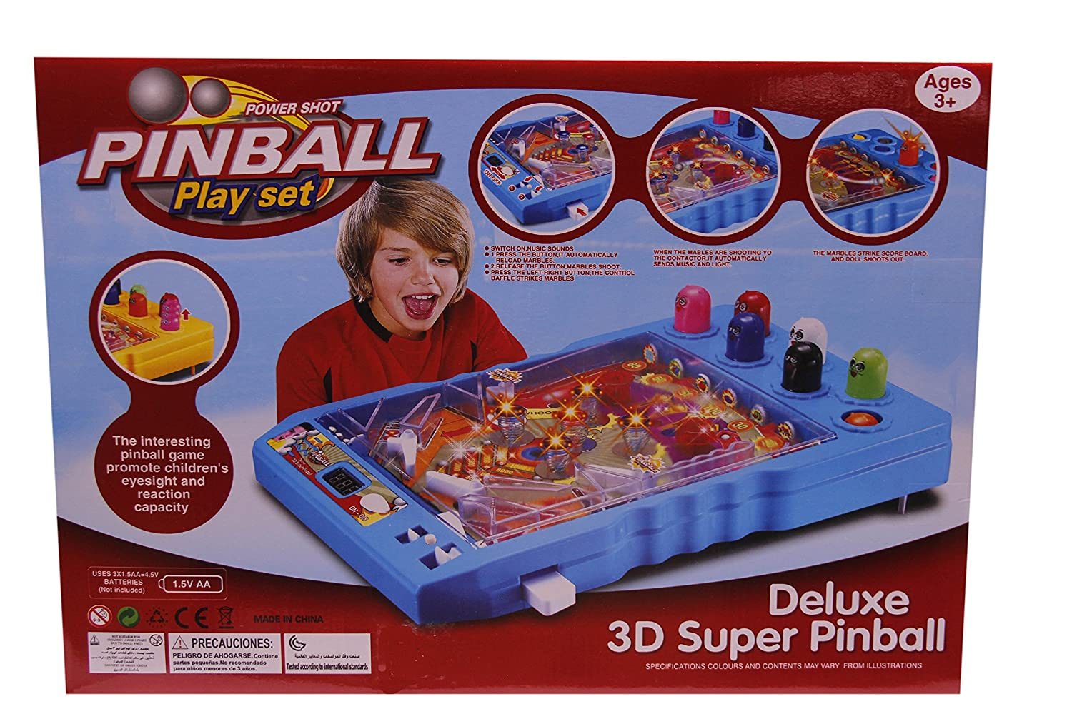 Pinball construction set - Buy Smiles Creation Powershot Pinball Play Set Toy For Kids Online At Low Prices In India Amazon In