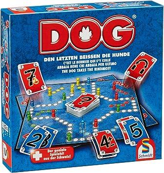 Schmidt Spiele 49331 Dog Den Letzten Beissen Die Hunde Familienspiel Ffp Artikel Amazon De Spielzeug