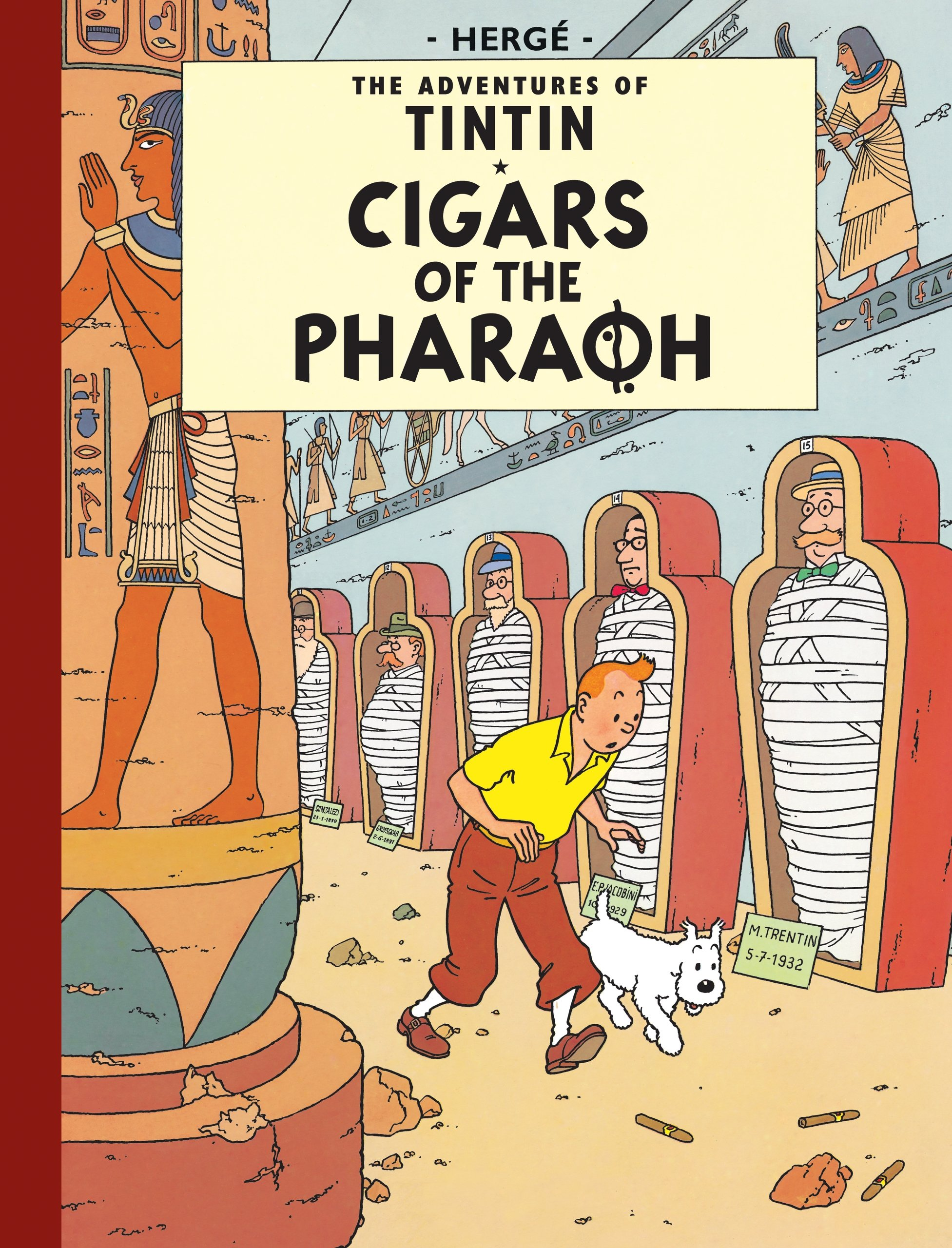 Cigars of the Pharaoh (Adventures of Tintin (Hardcover))