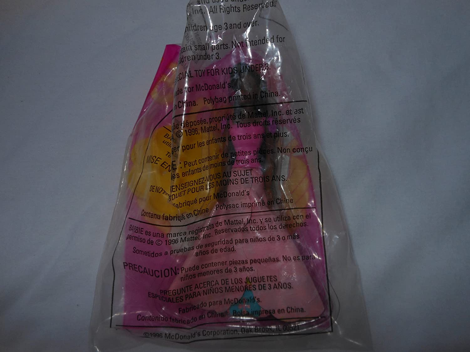 BLOSSOM BEAUTY figurine BARBIE ~ McDonalds