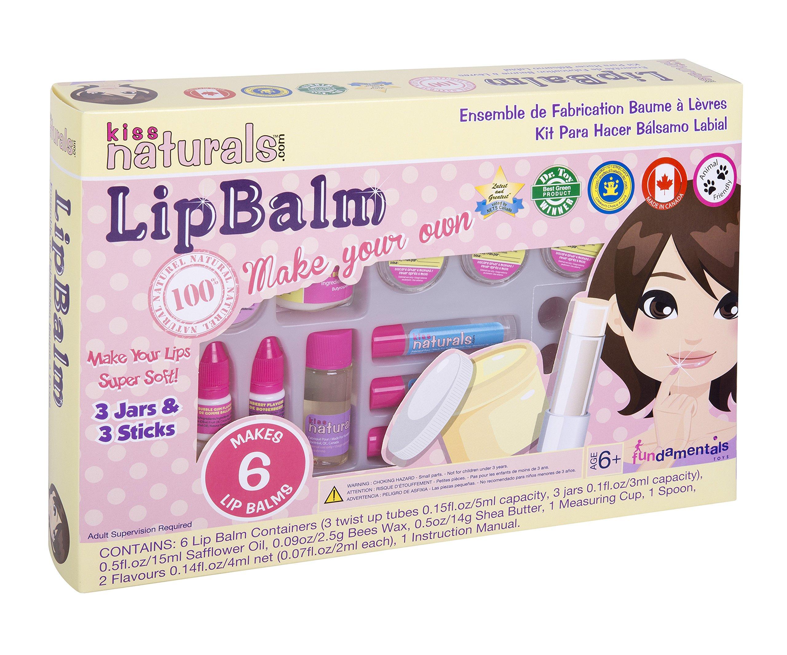 Kiss Naturals: Lip Balm Making Kit - All Natural, DIY
