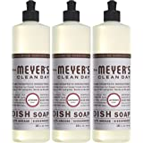MRS MEYERS Liquid Dish Soap, Lavender, 16 Fluid Ounce (Pack of 3)