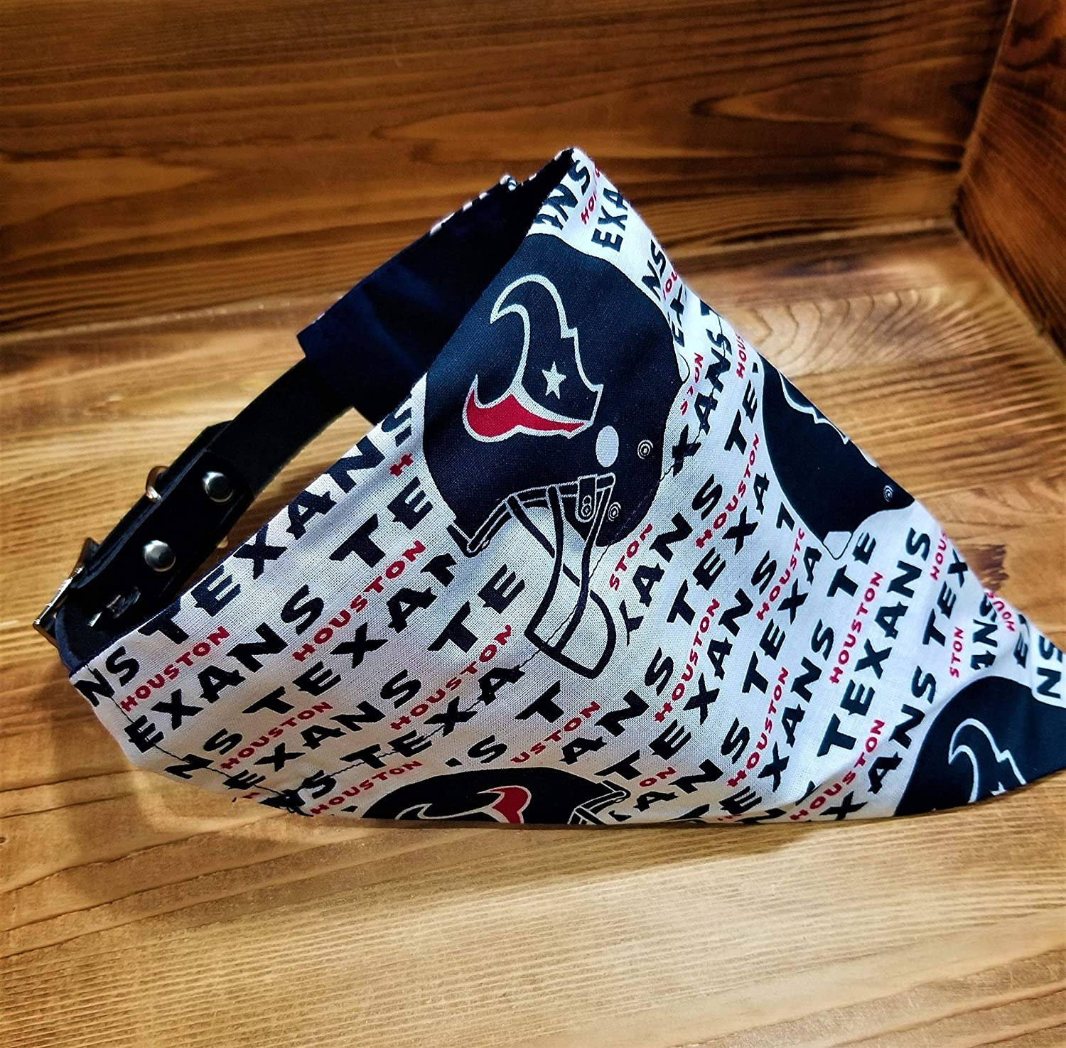 Houston Texans Dog Bandana No-Tie