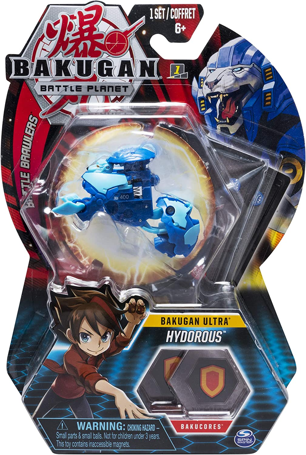 Bakugan Battle Planet Brawlers Ultra 3in Collectible Transforming Action Figure