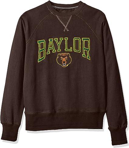 NCAA Supercrew Mens Sueded Fleece Pullover Crew