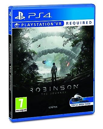 Robinson: The Journey VR (PSVR): Amazon co uk: PC & Video Games
