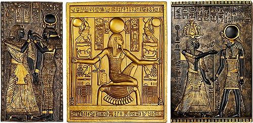 Design Toscano WU968075 Egyptian Temple Steles Tutankhamen