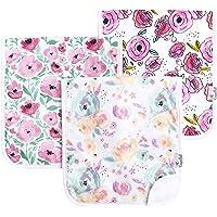 Copper Pearl 3-Pack Bloom Burp Cloths Set