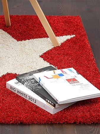 Longflor Teppich in Türkis Blau handgetuftet kuschelweiche Textur