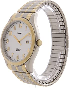 Timex Woodcrest Drive Two-Tone 38mm Men's Watch (T2N851)