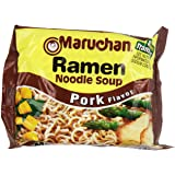 Maruchan Ramen, Pork, 3-Ounce Packages (Pack of 24)