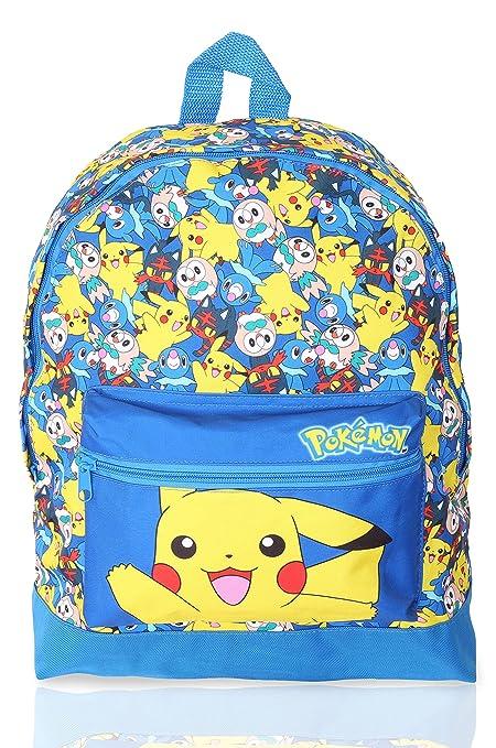 Pokémon Mochilas Escolares Juveniles | Mochila Para Niños ...