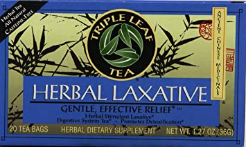 Triple Leaf Tea Tea Herbal Laxative 20 bag