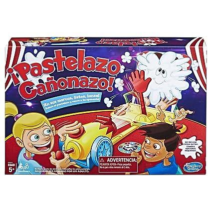 Hasbro Gaming Juego Pastelazo Canonazo Amazon Com Mx Juegos Y Juguetes