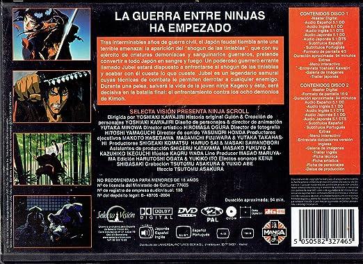 Ninja Scroll : Edicion Especial 2 Dvds: Amazon.es: Dibujos ...