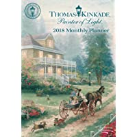 Thomas Kinkade Painter of Light 2018 Monthly Planner