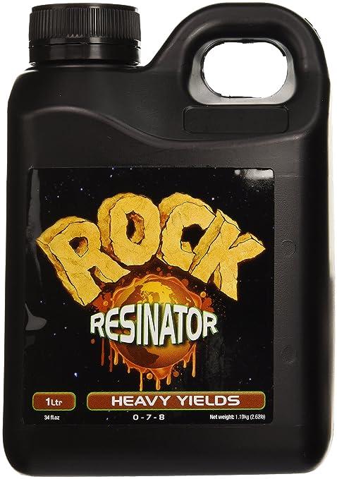 Rock Nutrients Rock Resinator Heavy Yields for Gardening, 1-Liter