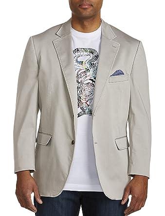 8b1b3bf165a Oak Hill DXL Big Tall Stretch Cotton Sport Coat at Amazon Men s Clothing  store
