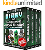 Diary Book Minecraft Series - Skeleton Steve & the Noob Mobs Collection 1: Unofficial Minecraft Books for Kids, Teens, & Nerds - Adventure Fan Fiction ... Noob Mobs Series Diaries - Bundle Box Sets)