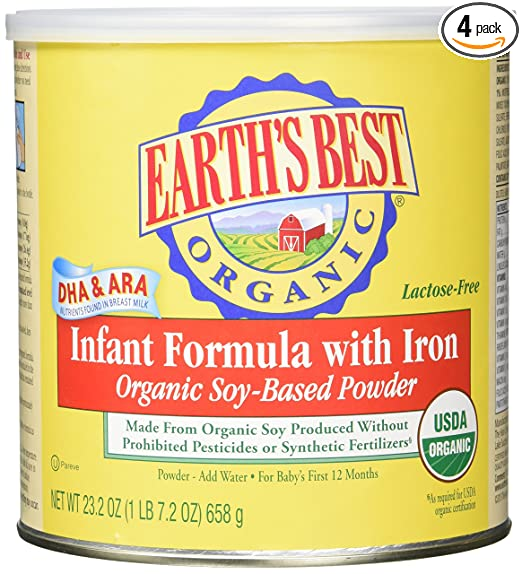 Best Organic Infant Formulas