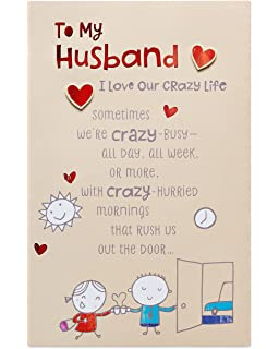 American Greetings Crazy Life Birthday Card For Husband With Foil