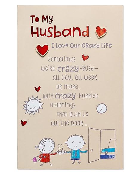 Birthday Card For Husband.American Greetings Pop Up Birthday Card For Husband Crazy Life