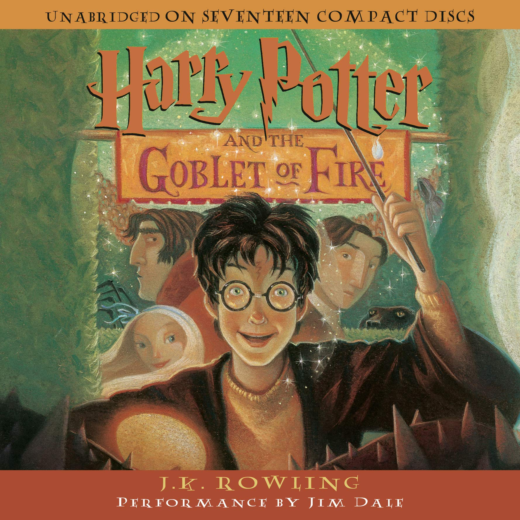 Harry Potter and the Goblet of Fire (Book 4) by Listening Library (Audio)
