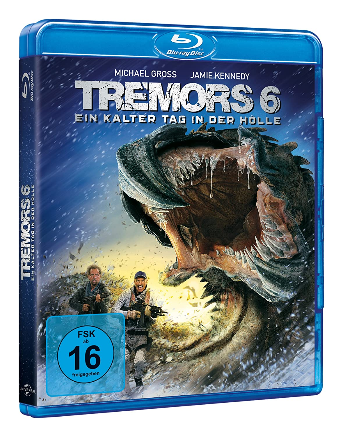 Tremors 6 - Ein kalter Tag in der Hölle Blu-ray: Amazon.de: Michael ...