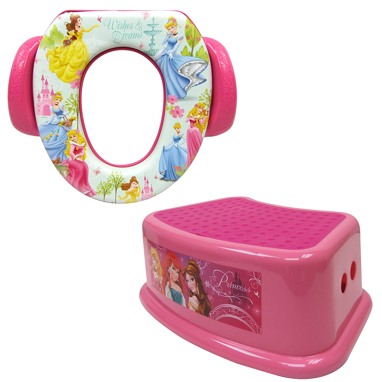 Brilliant Disney Soft Potty And Step Stool Combo Set Princess Amazon Ibusinesslaw Wood Chair Design Ideas Ibusinesslaworg