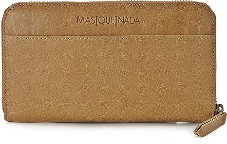 MASQUENADA, Carteras de señora de cuero, monederos, billeteras, 19,5 x