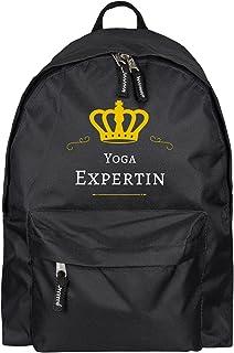 Sac à dos Yoga Experte Noir multifanshop