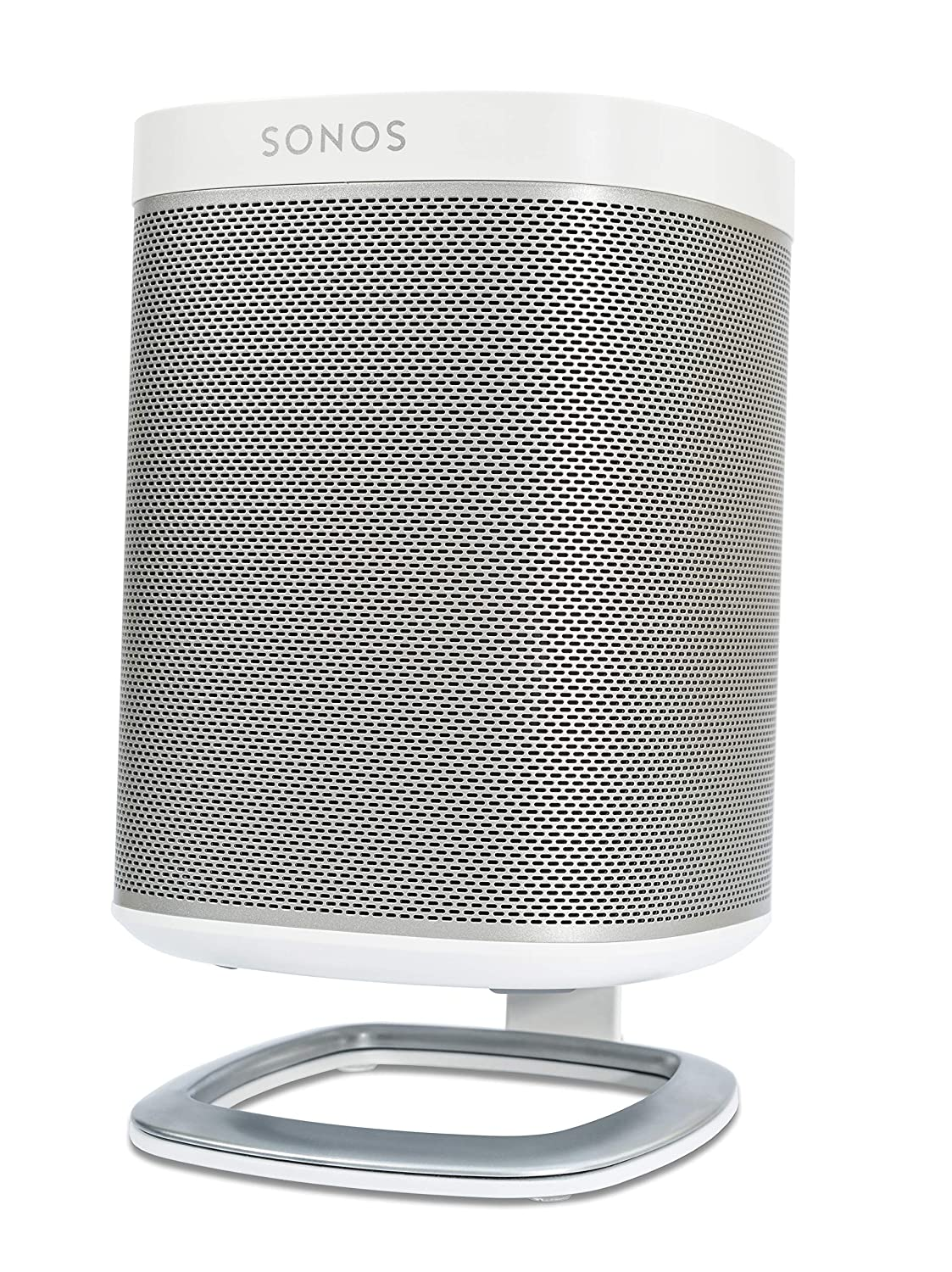 Flexson Desk Stand for SONOS PLAY:1 Speakers-White-Single FLXP1DS1011