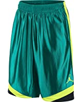 Jordan Court Vision Men's Basketball Shorts Green/Black/Yellow 576638-345