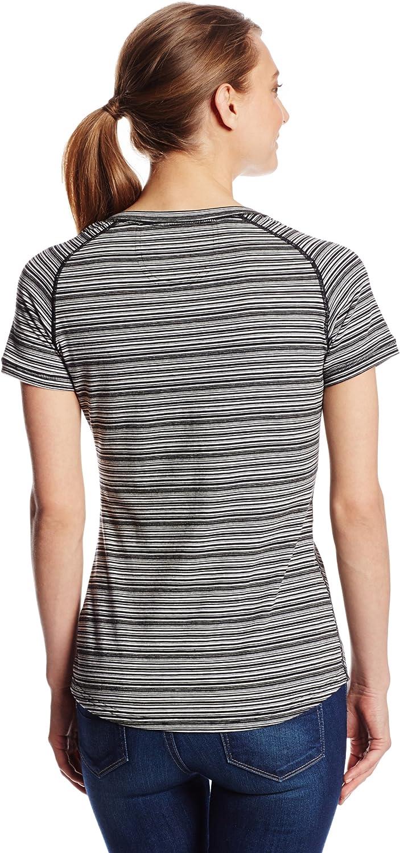 ExOfficio Womens Goto Pocket Stripe Short Sleeve Shirt
