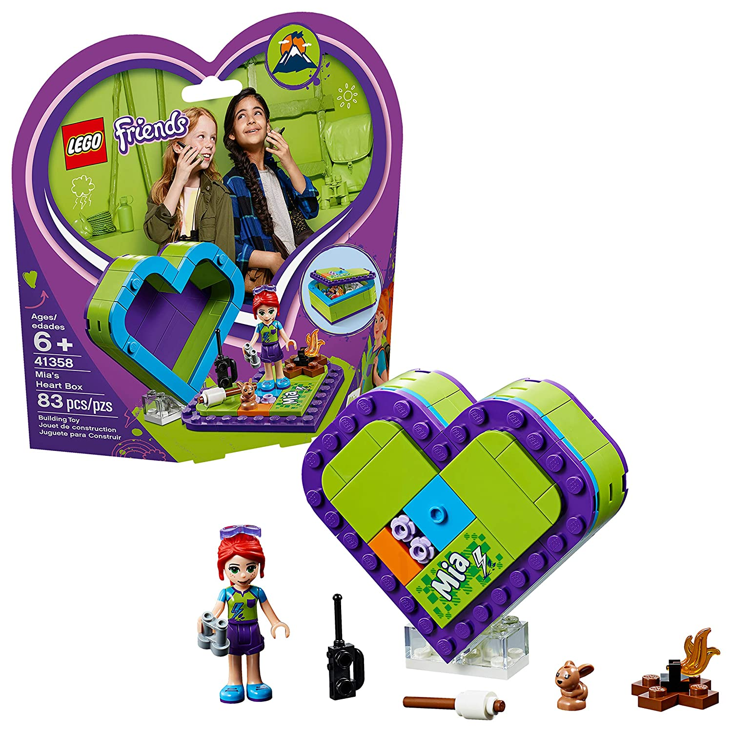 LEGO Friends Mia's Heart Box B...