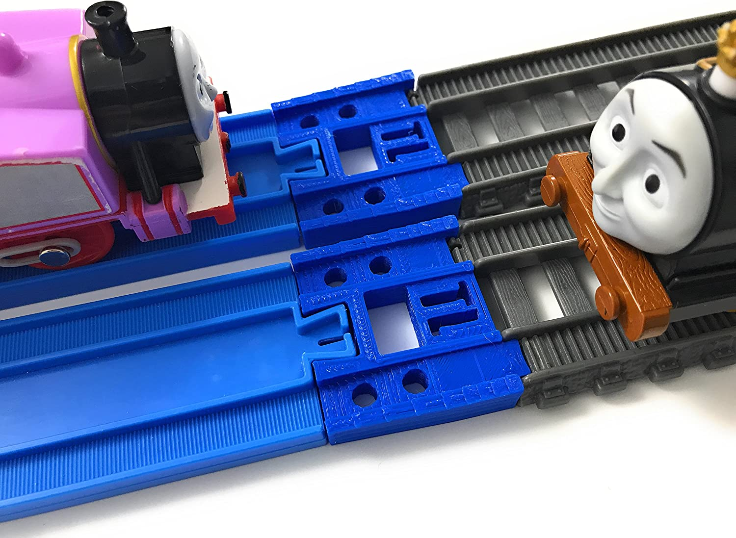 Tomy  Blue Track to  Trackmaster  Adapters 3 sets  Thomas and Friends