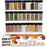 The 'Invisible' Acrylic Spice Rack.The Perfect Herb and Spices Organizer for Every Kitchen. Strong, Sturdy, Wall Mount Floating Shelves - 3 Shelf Set