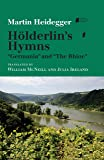 Hölderlin's Hymns Germania and The Rhine (Studies in Continental Thought)