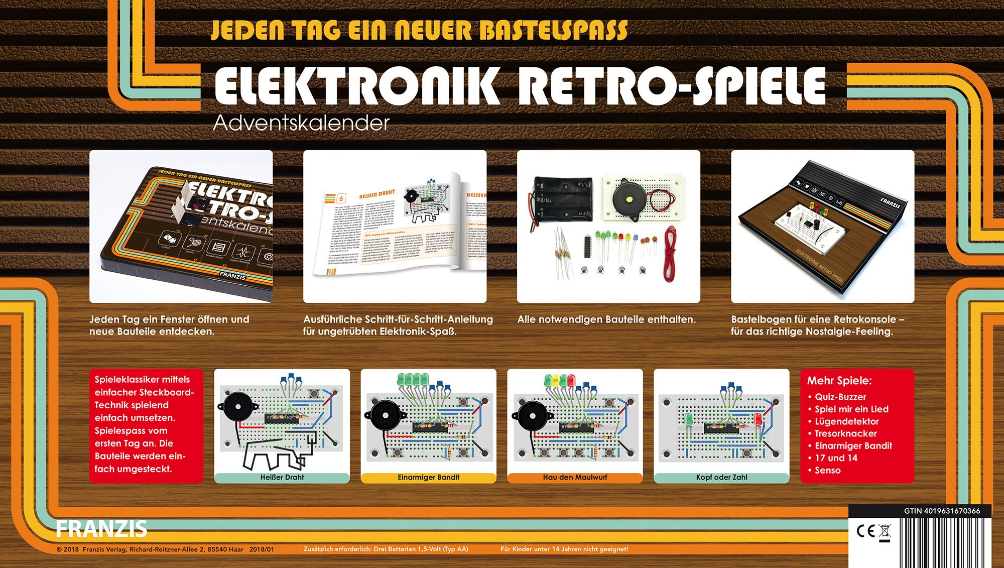 Adventskalender Elektronik
