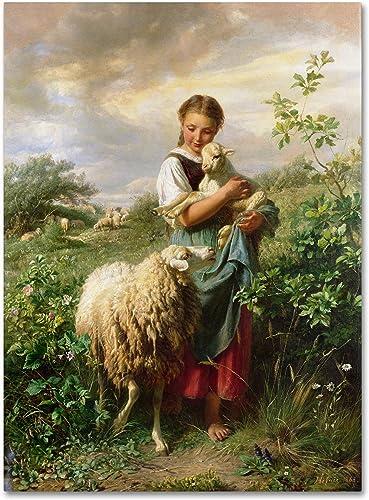 The Shepherdess 1866 Artwork