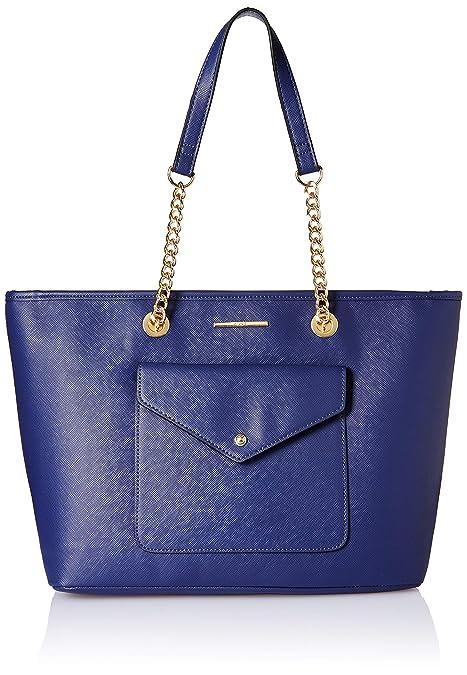 90d8a2189db Aldo Women s Tote Bag (Navy)  Amazon.in  Shoes   Handbags